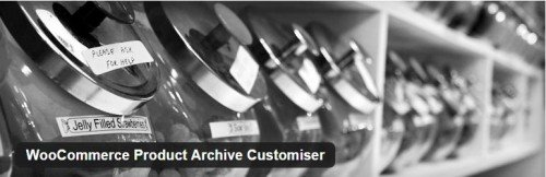 WooCommerce Product Archive Customiser usabilidad plugin gratuito