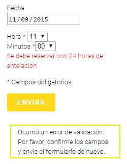 reserva formulario horas contact form wordpress 03