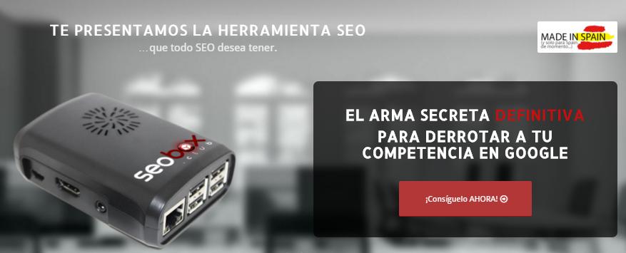 SEOBOX: la primera herramienta SEO en español