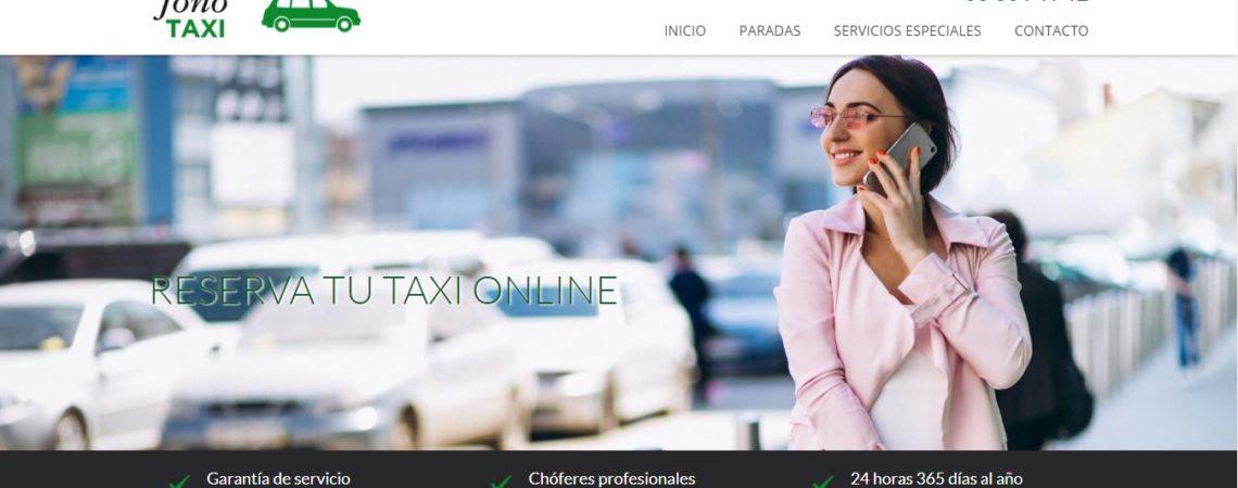 fonotaxi reserva taxi