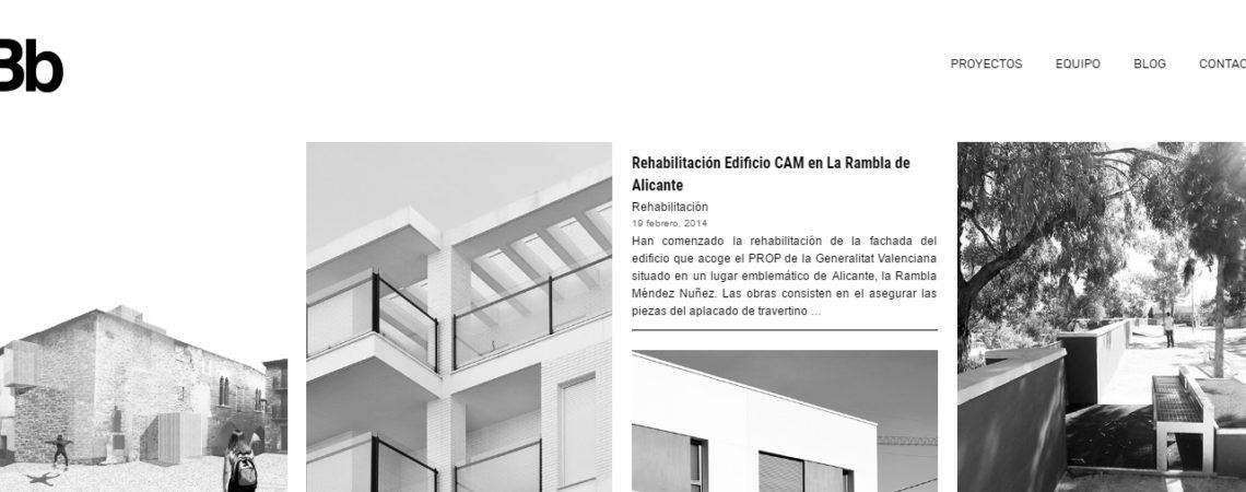 belmonte botella arquitectos estudio de arquitectura diseño web alicante