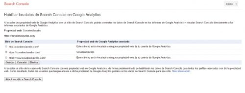 http a https. Cambios en Google Analytics