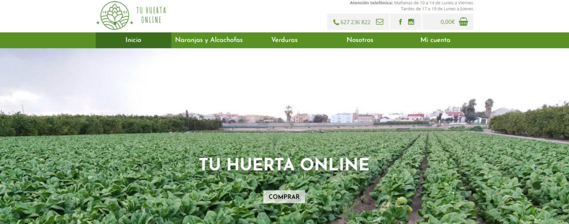 tu huerta online venta naranjas hortalizas